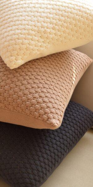 Handknit cushion covers