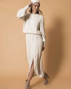 Emma Baby Alpaca Skirt