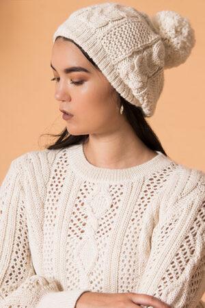 Emma Baby Alpaca Handmade Hat