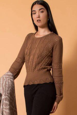 Milano Lace Sweater