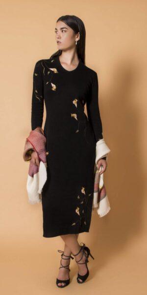 Osaka Embroidered Dress